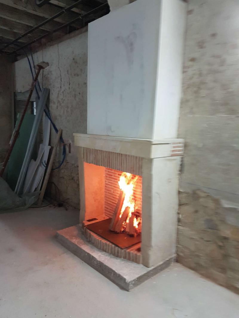 Renovation De Cheminee Ancienne rénovation de cheminée sully-sur-loire, flamme decor, poêle